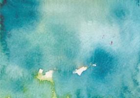 Ocean Blue Watercolor Free Vector Texture