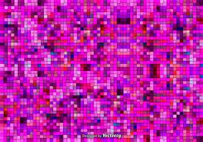 Fundo de vetor de mosaico rosa