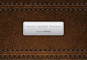 Textura marrom em couro marrom vetor