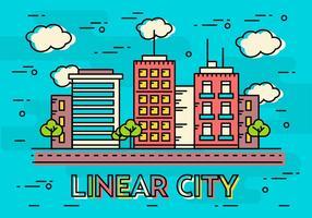 Conceito Linear Linear Design Vector Concept