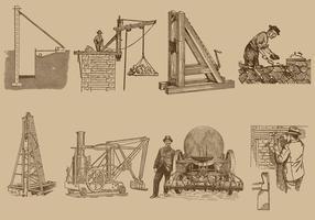Indústria de construção vetor