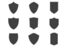 Vetores de Shield templários gratuitos