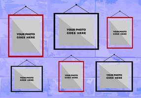 Colagem livre de fotos vetoriais 9 vetor