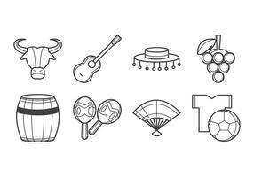Vector de ícone de Espanha grátis