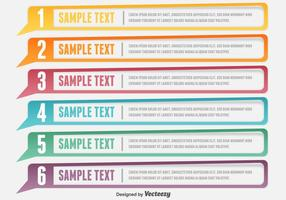 Modelo de banners vetoriais de design limpo vetor