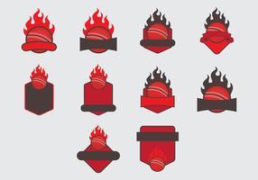 Conjunto de ícones do modelo Dodge Ball Arcade vetor