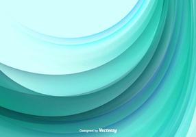 Fundo abstrato do vetor da onda da cor