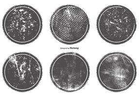 Distintivos de Grunge Vector