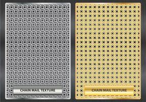 Ilustração da Textura Chainmail vetor