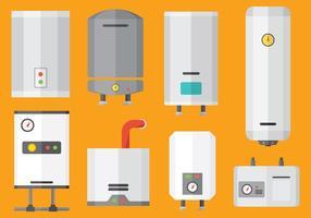 Vetor de ícones de aquecimento gratuito
