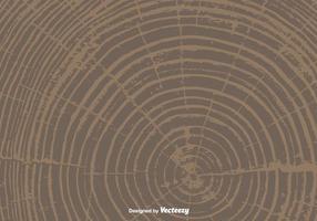 Árvore vetorial anéis de fundo vetor