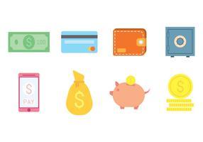 Vetor de ícone bancário gratuito
