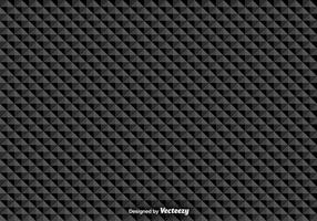 Padrão sem emenda do vetor com triângulos pretos