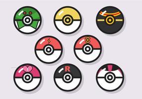 Pokémon Ball Vector