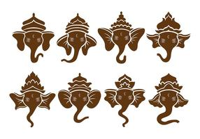 Ícones de Brown Ganesh