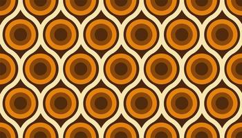 padrão sem emenda colorido abstrato dos anos 60