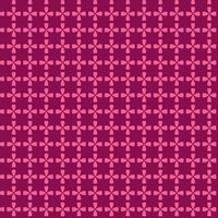 padrão sem emenda de círculo geométrico de bloqueio rosa vetor