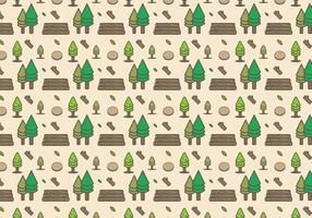 Vetor de registros de madeira grátis