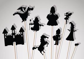 Vetor de fantoche de sombra livre