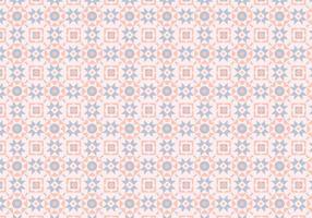 Padrão Pastel Rosa Mosaico vetor