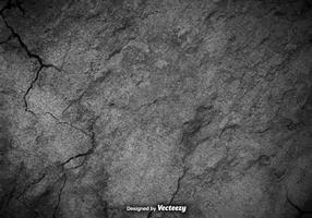 Textura de concreto rachado do vetor