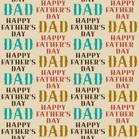 feliz dia dos pais sem costura padrão vetor