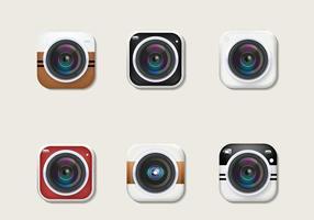 Vetor de câmeras