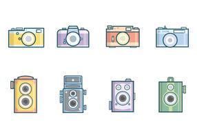 Vector de câmera vintage grátis