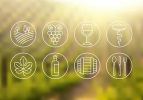 Ícones de vinho grátis