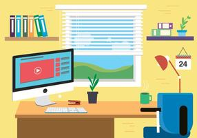 Vector de espaço de designers grátis com uma visão