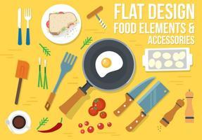 Design gratuito de vetores alimentares