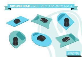 Mouse pad pacote de vetores grátis vol. 4