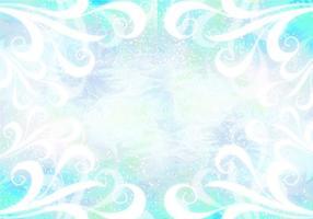 Fundo azul da poeira do duende do vetor