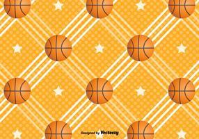 Fundo do vetor do basquetebol