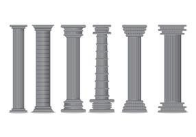 Vetor de pilar romano