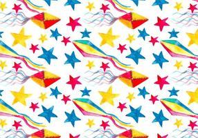 Vetor livre junina kite background