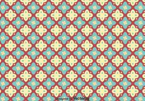 Padrão sembalante de azulejos Talavera vetor