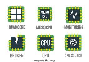 Conjunto de vetores da CPU
