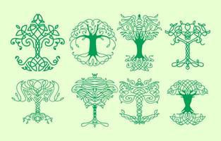 Ícones grátis da árvore celta