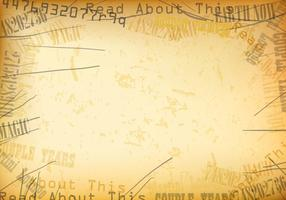 Textura velha do vetor do jornal