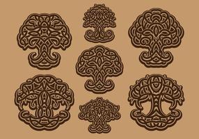 Árvore celta da vida vetor