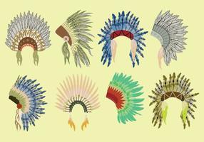 Ícones de Bonnet Nativos grátis vetor