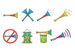 Vuvuzela Vector Grátis