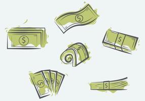 Vector de Ilustração de 100 Dólares