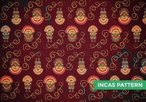 Vetor de padrão de maias incas
