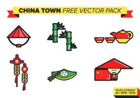 Pacote de vetores grátis da China Town