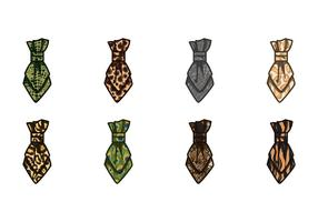 Vetor de ícone de cravat livre