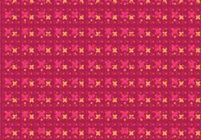 Padrão Floral Moderno vetor