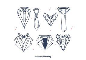 Gentleman set vector