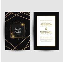 luxo salvar os cartões de data
